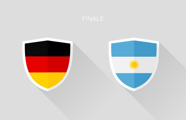 Fußball-WM: Finale - Deutschland vs. Argentinien