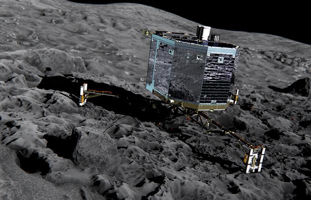Wissenschaftstag Public Viewing spezial: Rosetta Landung