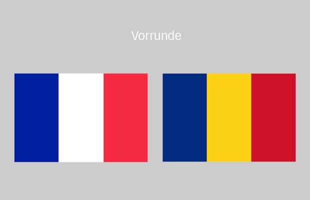 frankreich rumänien