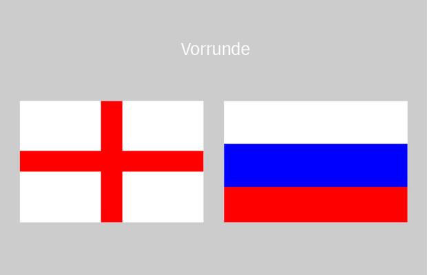 fussball england russland