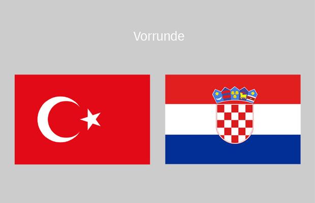 fußball kroatien türkei