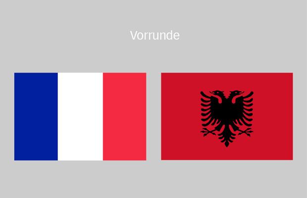 em frankreich albanien