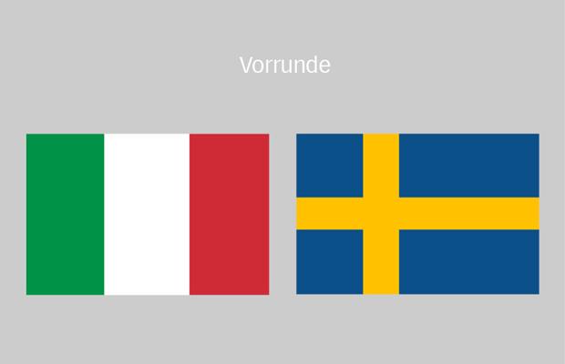 fußball italien schweden