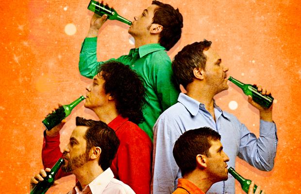 Das GlasBlasSing Quintett: Süßer die Flaschen nie klingen!
