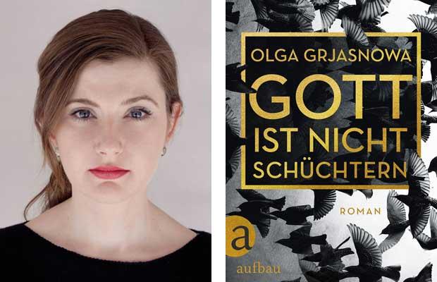 LitLounge mit Olga Grjasnowa: Gott ist nicht schüchtern