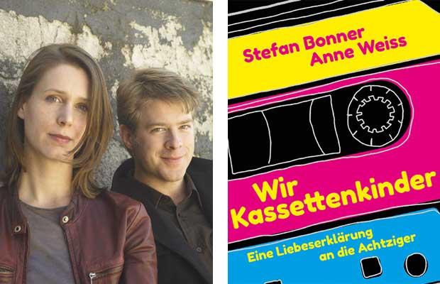 LitLounge mit Anne Weiss und Stefan Bonner: Wir Kassettenkinder - Eine Liebeserklärung an die Achtziger