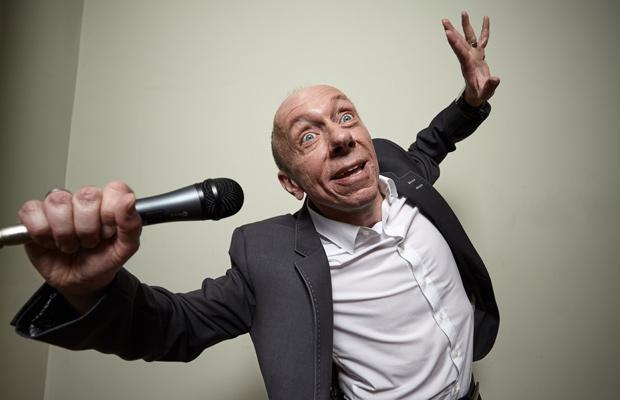Eventilator Frank Sommer: Karaoke-Lesen