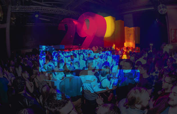 29 up! - Die Party für alle ab 30