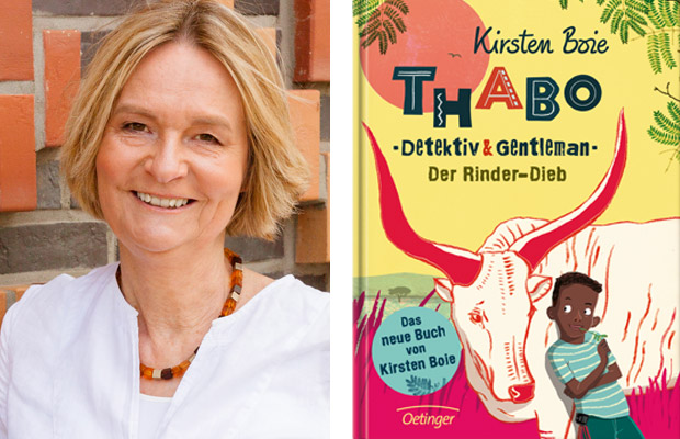 Kirsten Boie: Thabo. Detektiv und Gentleman. Der Rinder-Dieb