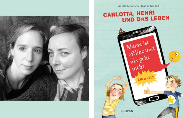 Anette Beckmann, Marion Goedelt: Mama ist offline und nix geht mehr!? Like it!
