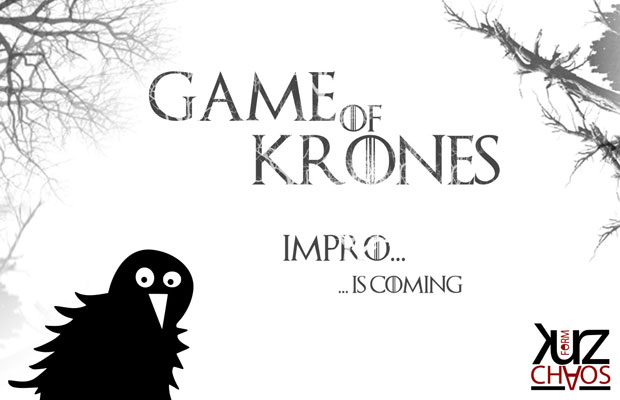 ImproTheaterSlam: Game of Krones 2018 - Impro is coming