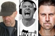 Die Legende Lebt mit den DJs Raphael Krickow (Welcome To The Robots), Da Hool und Tom Wax