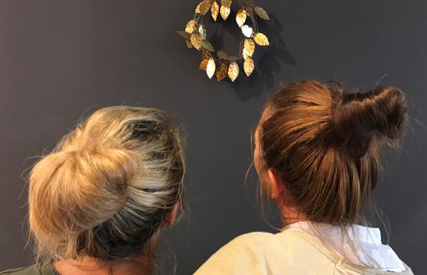 Heiligs Blechle: Glühschoppe mit 2damenohnenamen