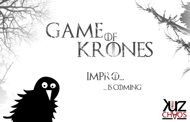 ImproTheaterSlam: Game of Krones 2019 - Impro is coming