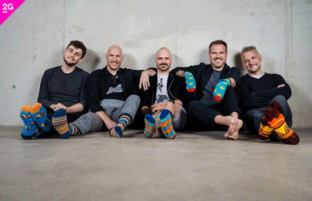 Alte Bekannte: Bunte Socken