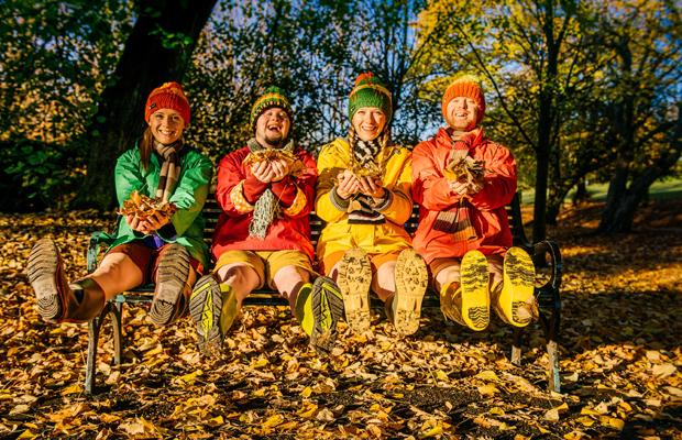 Starke Stücke: Four Go Wild in Wellies