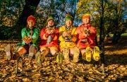 Starke Stücke: Four Go Wild in Wellies - AUSVERKAUFT -