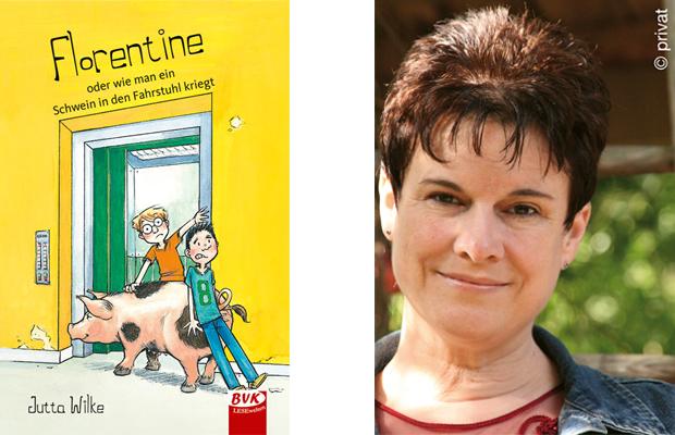 Jutta Wilke: Florentine oder wie man ein Schwein in den Fahrstuhl kriegt