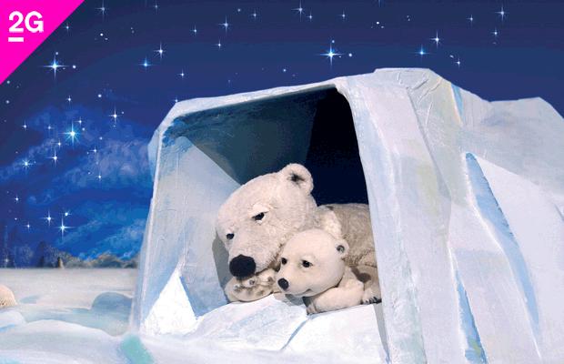 marotte Figurentheater: Der kleine Eisbär