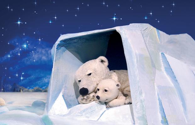 VERLEGT: marotte Figurentheater: Der kleine Eisbär