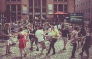 Swing & Ride: Darmstädter Fahrradtour mit Tanzeinlagen an schönen Plätzen