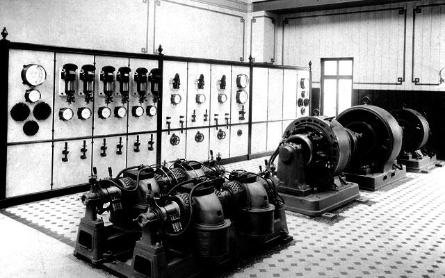Die ehemalige HEAG Maschinenhalle in der Centralstation Darmstadt