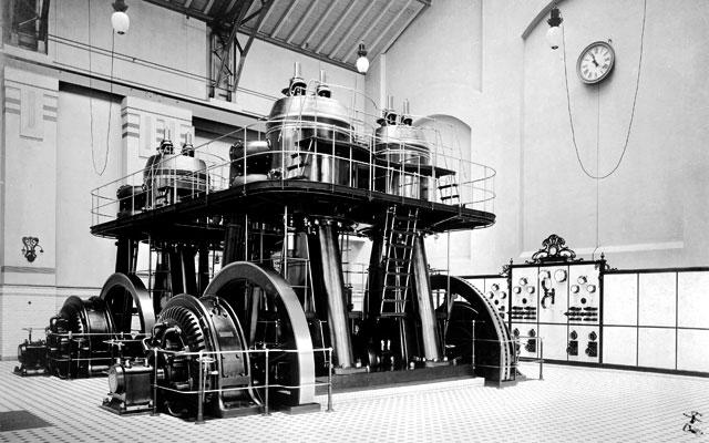 Die historische Maschinenhalle