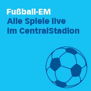 Fußball-EM 2016: Public Viewing in der Centralstation