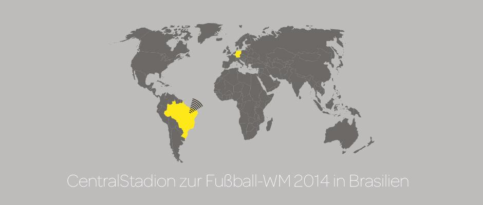 CentralStadion – Public Viewing in der Centralstation Darmstadt zur WM 2014 in Brasilien