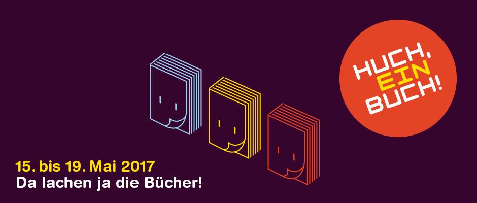 Huch, ein Buch! 7. Jugend- und Kinderliteraturfestival Darmstadt