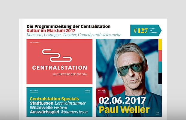 Die aktuelle Programmzeitung der Centralstation Darmstadt