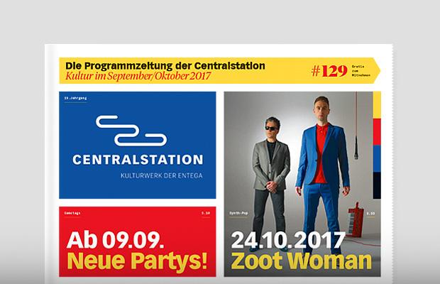 Die Programmzeitung der Centralstation Darmstadt