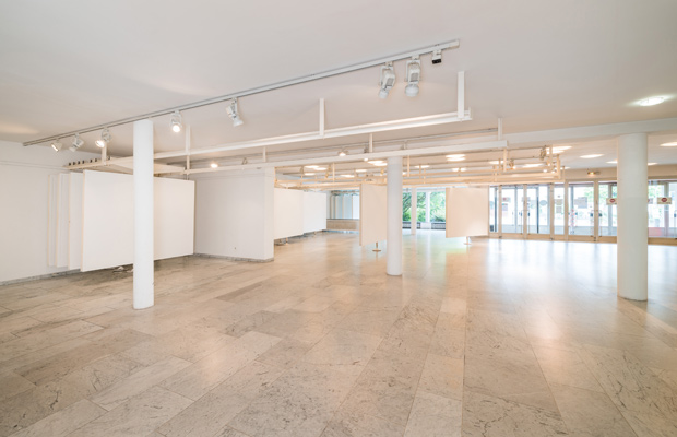 Eingangshalle mit Ausstellungsflächen (Justus-Liebig-Haus)