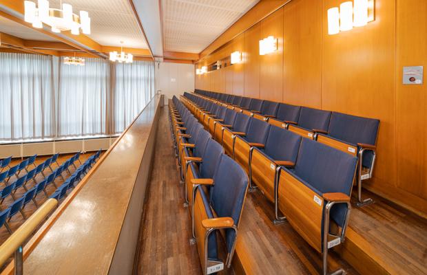 Empore im Saal (Justus-Liebig-Haus)